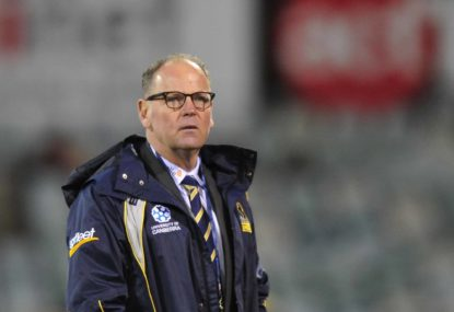 A role for White, but not as Wallabies head coach
