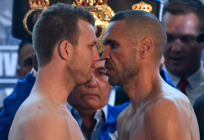 Jeff Horn vs Anthony Mundine: Boxing highlights, round-by-round updates, live blog