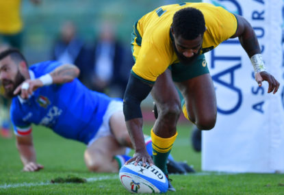 Wallabies defeat Italy, but the RWC 2019 cause still looks hopeless