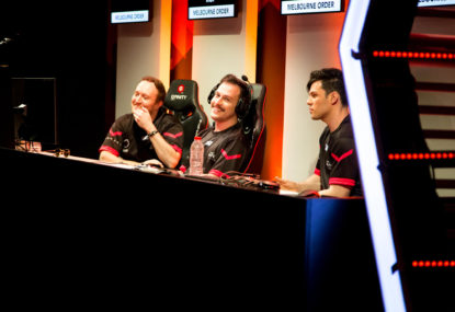 Melbourne are still on top for Street Fighter at Gfinity, but the gap is closing