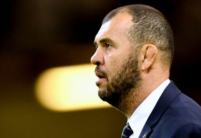 Cheika stumbles in first test of new Wallabies paradigm