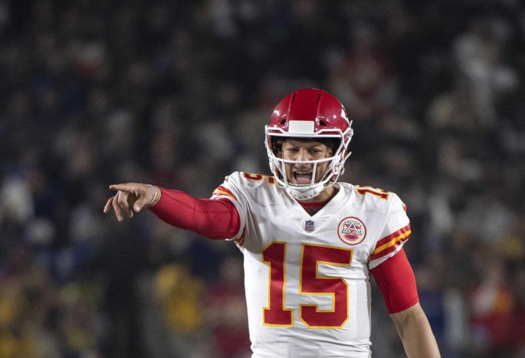 Kansas City Chiefs' Pat Mahomes