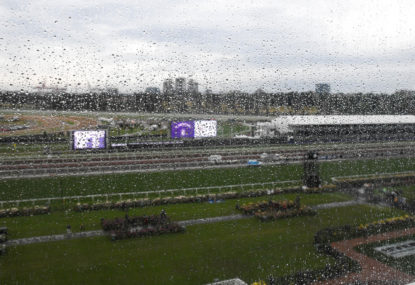 How will the rain and bad weather impact the Melbourne Cup?