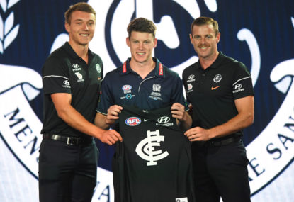 Why Sam Walsh was a better number one pick than Connor Rozee
