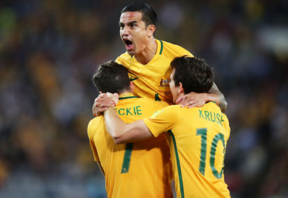 Socceroos vs Lebanon: Tim Cahill's farewell highlights, scores, blog