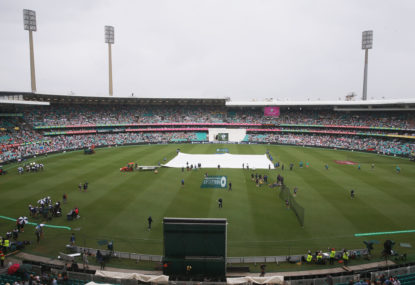 Cricketing quirks: The rain delay
