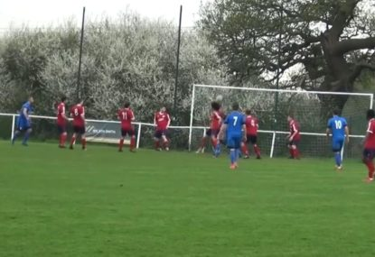 Incredible defence deflect half a dozen shots on goal in 15 seconds