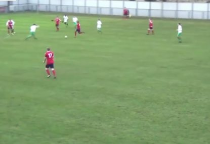 How did he manage to squeeze that past the keeper?