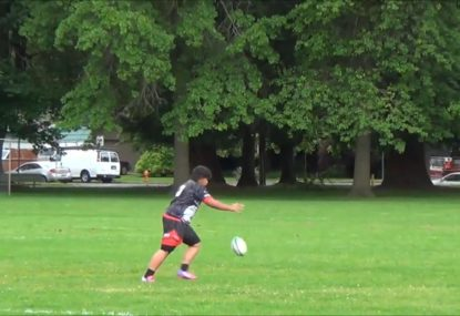 Farcical conversion attempt turns rugby match into a comedy skit