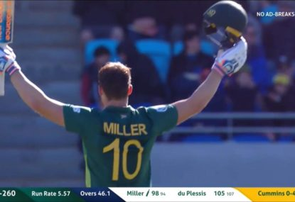HIGHLIGHTS: Dominant du Plessis and Miller secure South Africa the series