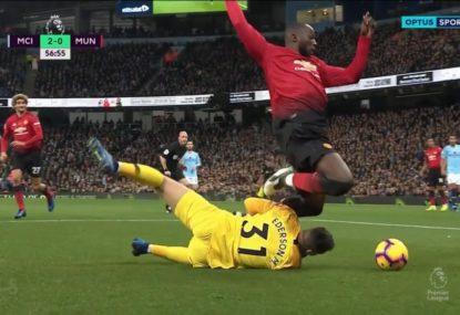 Substitute Lukaku immediately wins penalty