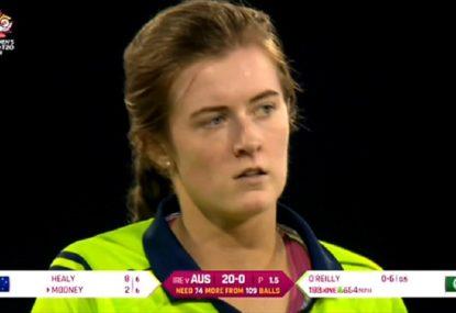 Young Irish quick's Daryl Tuffey-esque 11-ball over