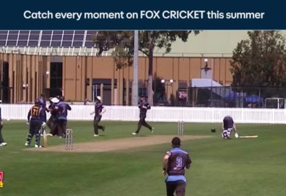 Batsman cooked by his own teammate in blundering run out