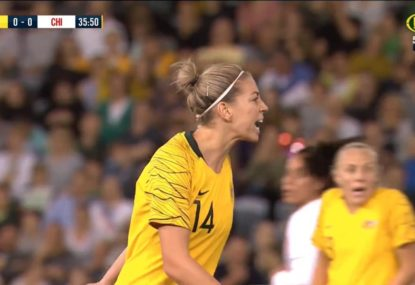 Matildas angered by both referee and opposition
