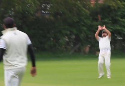Fielder's phenomenal fail revives batsman's dead innings