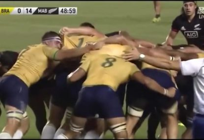 Brazil's scrum absolutely demolishes the Maori All Blacks