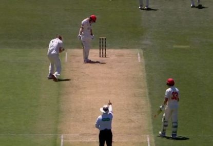 Was Travis Head robbed of a Shield century by a dodgy LBW decision?