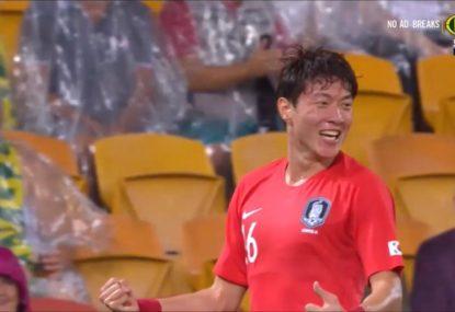 South Korea draw first blood despite Socceroos' dominance