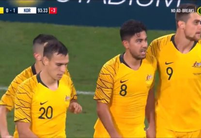 Last-gasp Massimo Luongo goal steals the Socceroos a draw from nowhere