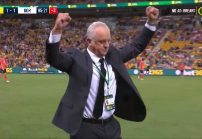 HIGHLIGHTS: Wasteful Socceroos pinch a draw at the death