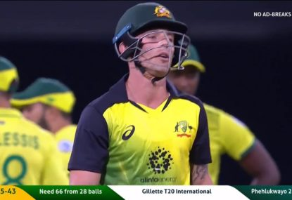 Ben McDermott's disastrous ramp shot is everything wrong with Australian batting