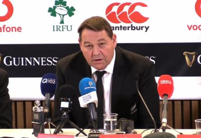 'They're the number one team in the world': Hansen's classy praise for Ireland