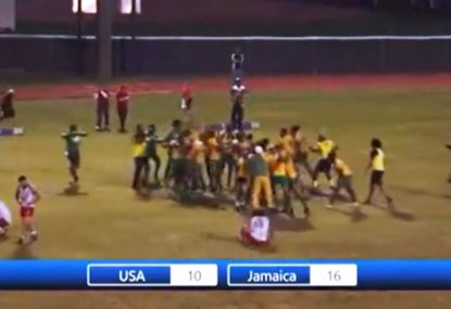 Awesome scenes as Jamaica beat USA to book RLWC spot
