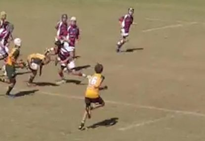 Young beast sets up superb try down the right wing