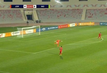Jordan's goalkeeper unleashed to put his name on the scoresheet