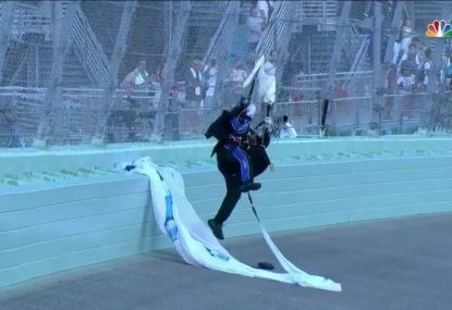 Skydivers miss landing at NASCAR event in Florida