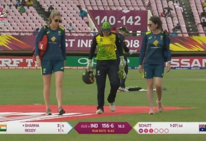 Southern Stars will take every precaution with Alyssa Healy's head injury