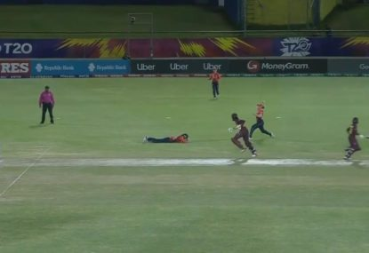Dazzling runout saves England's keeper from major  embarrassment