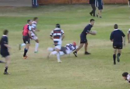 Dynamite rugby schoolboy is a certified SBW clone!