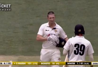 Shaun Marsh locks his Test spot away with matchwinning unbeaten 163