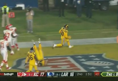 Touchdowns galore as Rams and Chiefs play out third highest scoring NFL game