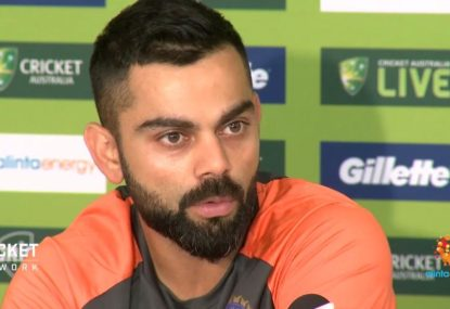 Virat Kohli speaks on facing a wounded Australian outfit