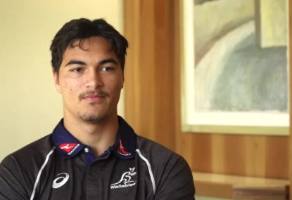 Jordan Petaia speaks after signing with the Wallabies and Reds til 2022