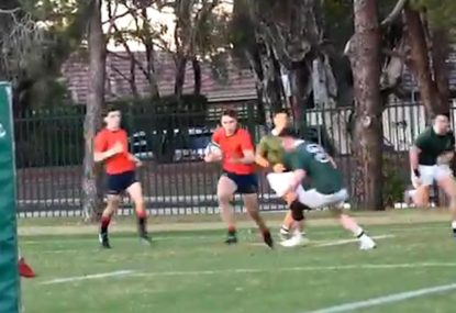 Schoolboy rugby prodigy is a line-breaking, try-scoring machine!