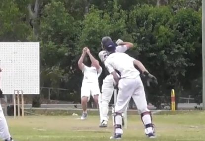 Bowler-In-Shorts' series of failures is quintessential park cricket