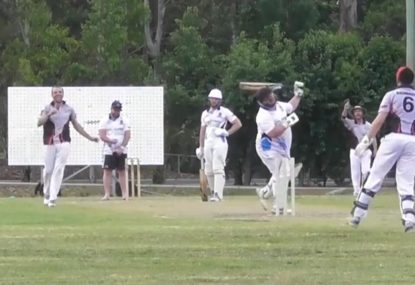 Club cricketer's shocking swipe goes as well as his swipes on Tinder