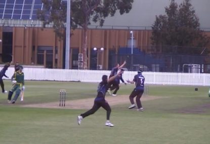 Melbourne University achieve extremely rare team double hat-trick maiden!