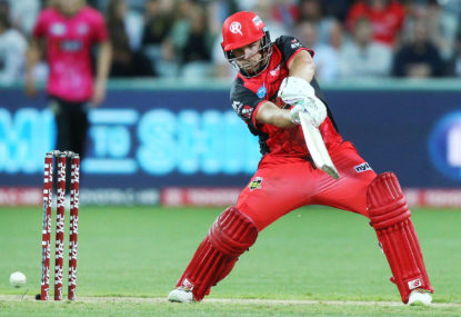 Brisbane Heat vs Melbourne Renegades: Big Bash live scores, blog