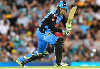 Adelaide Strikers vs Melbourne Renegades: Big Bash live scores, blog