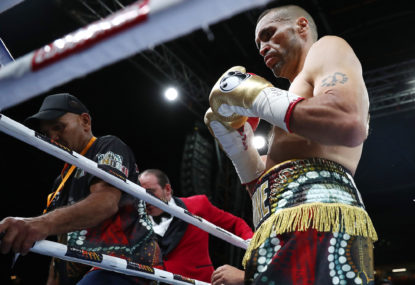 A fitting final chapter in the career of Anthony Mundine