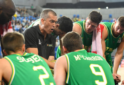 Boomers lose final World Cup qualifying game in Iran