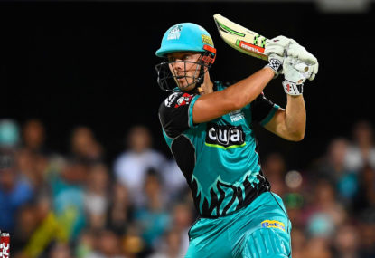 Lynn 'embarrassed' after worst collapse in Big Bash history