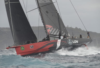 Comanche wins the 75th Sydney to Hobart