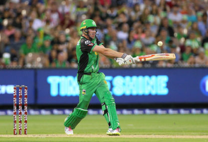 BBL batting isn't great, and Twenty20 cricket might be to blame