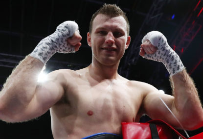 Iron test for Tszyu against Horn