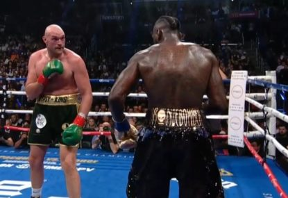 Former world champ tees off over 'joke' Wilder vs Fury draw decision